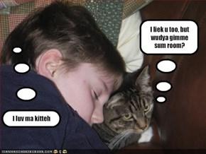 I luv ma kitteh