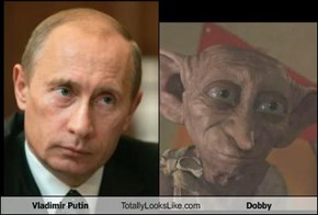 Vladimir Putin Totally Looks Like Dobby