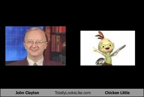 John Clayton Totally Looks Like Chicken Little