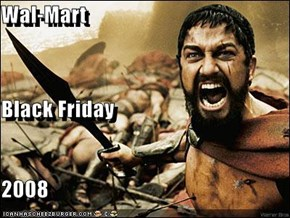 Wal-Mart Black Friday 2008