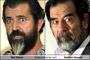 Mel Gibson Totally Looks Like Saddam Hussein