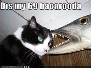 Dis my 69 bacarooda