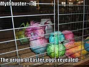 Mythbuster: #1  The origin of Easter eggs revealed