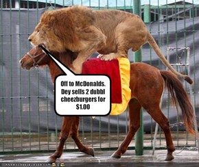 Off to McDonalds.