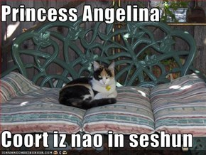 Princess Angelina  Coort iz nao in seshun