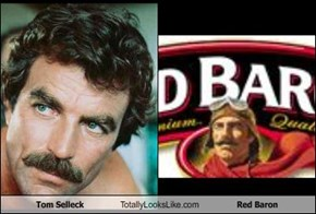 Tom Selleck Totally Looks Like Red Baron