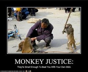 MONKEY JUSTICE: