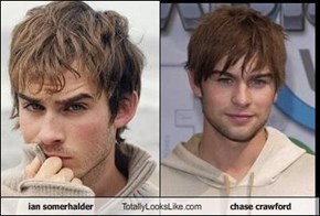 ian somerhalder Totally Looks Like chase crawford