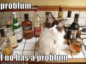problum...  I no has a problum