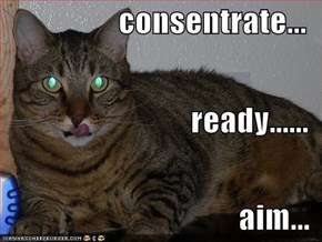 consentrate... ready......  aim...