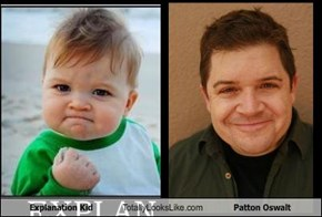 Explanation Kid Totally Looks Like Patton Oswalt