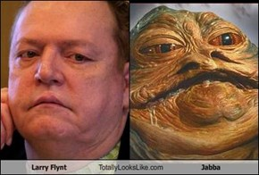 Larry Flynt Totally Looks Like Jabba