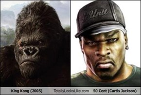 King Kong (2005) Totally Looks Like 50 Cent (Curtis Jackson)