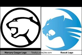 Mercury Cougar Logo Totally Looks Like Roccat Logo