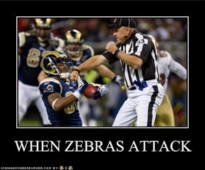 WHEN ZEBRAS ATTACK