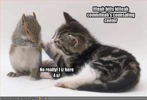 Itteah bitty kitteah commiteah's counsaling center