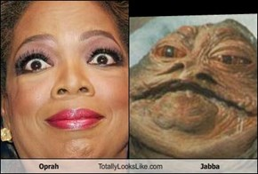 Oprah Totally Looks Like Jabba