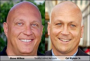 Steve Wilkos Totally Looks Like Cal Ripken Jr.