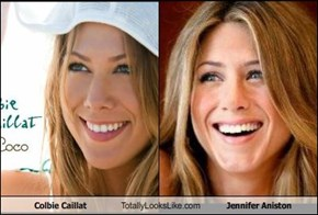 Colbie Caillat Totally Looks Like Jennifer Aniston