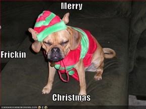 Merry Frickin Christmas