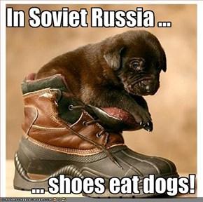 In Soviet Russia ...