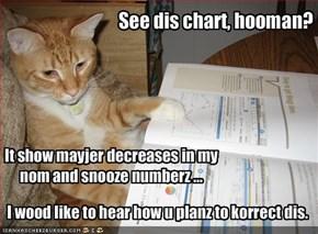See dis chart, hooman?