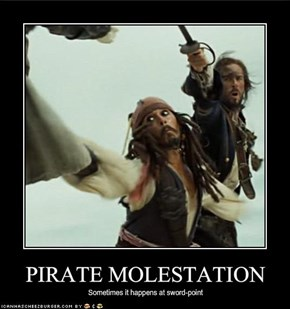 PIRATE MOLESTATION