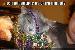 teh advantage uv extra nippuls  i has it