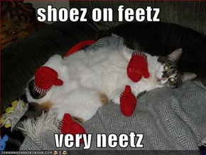 shoez on feetz  very neetz