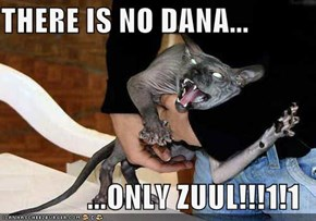 THERE IS NO DANA...  ...ONLY ZUUL!!!1!1