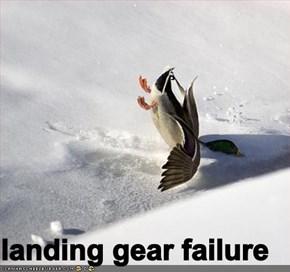 landing gear failure