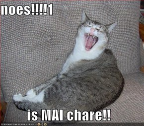 noes!!!!1  is MAI chare!!