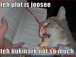 teh plot is joosee  teh bukmark not so much