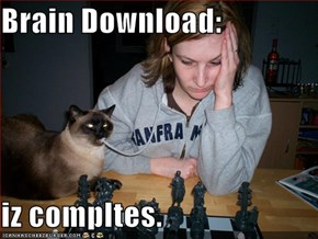 Brain Download:  iz compltes.