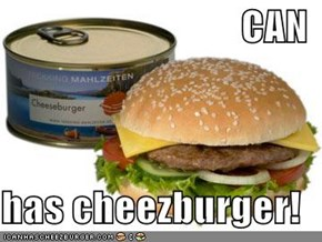 CAN  has cheezburger!