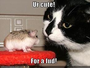 Ur cute!  For a fud!