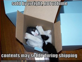 sold by weight, not volume  contents may settle during shipping