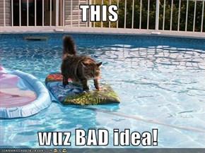 THIS  wuz BAD idea!