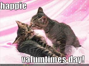 happie  valumtimes day!