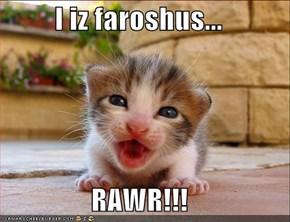I iz faroshus...  RAWR!!!