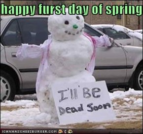 happy furst day of spring