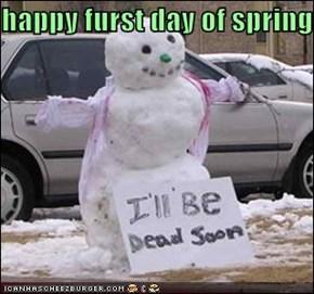 happy furst day of spring