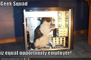 Geek Squad  iz equal opportunity employer!