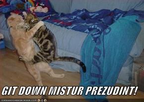 GIT DOWN MISTUR PREZUDINT!