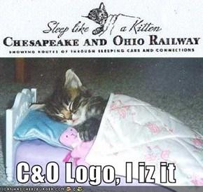 C&O Logo, I iz it