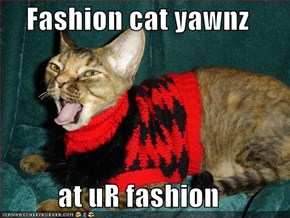 Fashion cat yawnz  at uR fashion