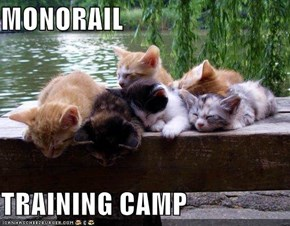 MONORAIL  TRAINING CAMP
