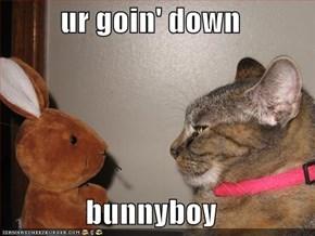 ur goin' down  bunnyboy
