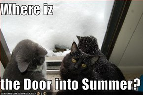 Where iz   the Door into Summer?