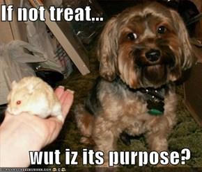 If not treat...  wut iz its purpose?